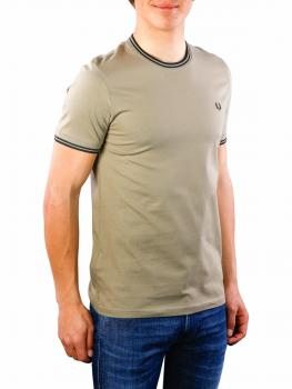 Image of Fred Perry Twin Tipped T-Shirt sage