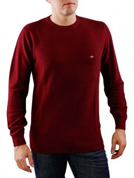 Image of Fynch-Hatton O Neck Merino Pullover bold