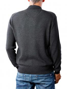 Image of Fynch-Hatton Cardigan College Knit charcoal
