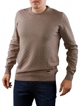 Image of Fynch-Hatton O-Neck Pullover taupe