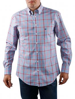 Image of Fynch-Hatton 2-Tone Combi Shirt coral
