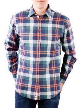 Image of Fynch-Hatton Shirt Soft & Lightweight Flanel navy
