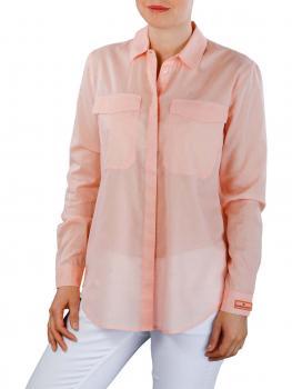 Image of Maison Scotch Button Up Shirt pink salt