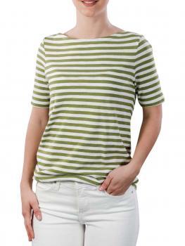 Image of Marc O'Polo T-Shirt Boat Neck multi sea green