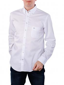 Image of Fynch-Hatton Solid Summer Shirt white