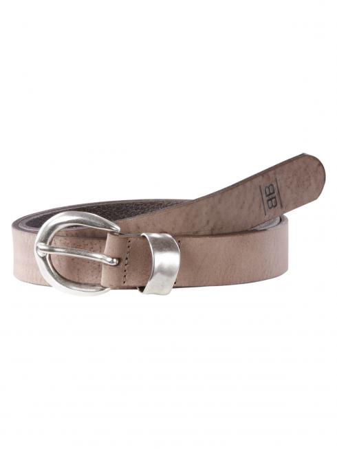 Juli taupe 30mm by BASIC BELTS