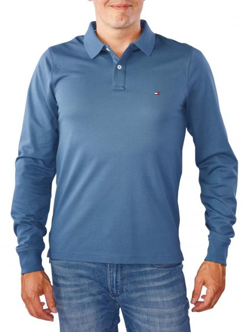 Tommy Hilfiger Luxury Slim Tipped Polo ensign blue