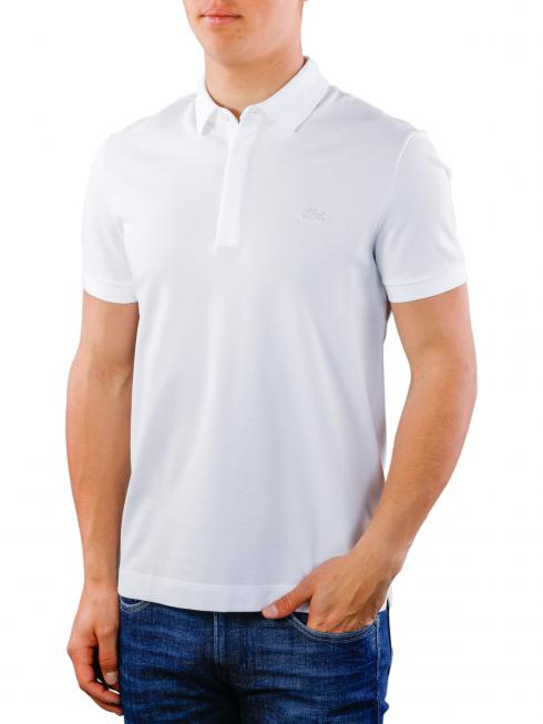 Lacoste Polo Shirt Stretch blanc