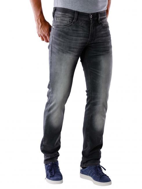 Mustang Oregon Tapered-K Jeans black denim medium bleach