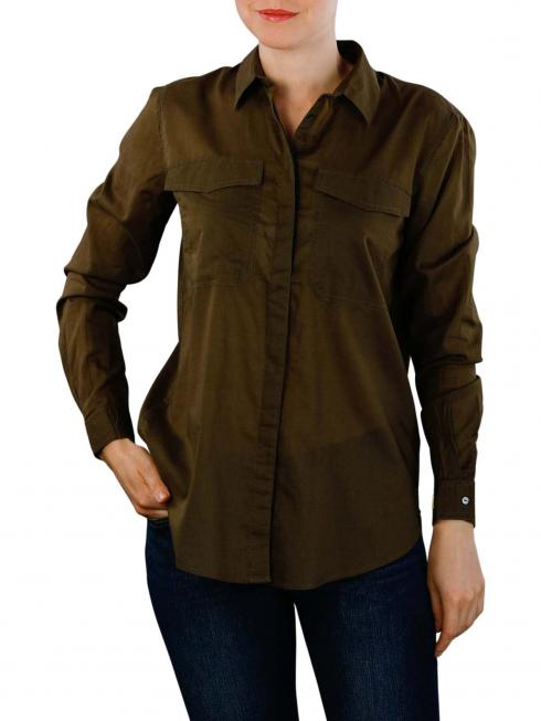 Maison Scotch Button Up Shirt military