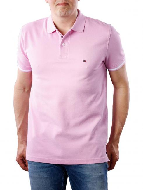 Tommy Hilfiger Basic Tipped Regular Polo orchid