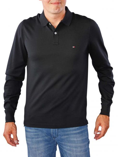 Tommy Hilfiger Luxury Slim Tipped Polo flag black