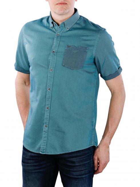 Vanguard Long Sleeve Shirt Wood blau