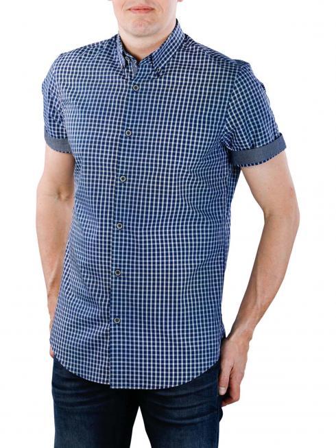 Vanguard Long Sleeve Shirt Check blau