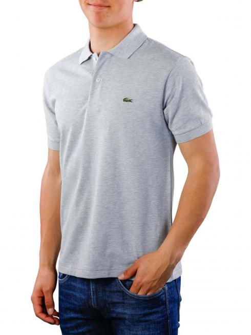 Lacoste Polo Shirt Slim Short Sleeves argent chine