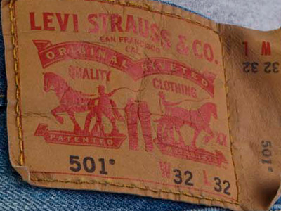 Two Horse Label