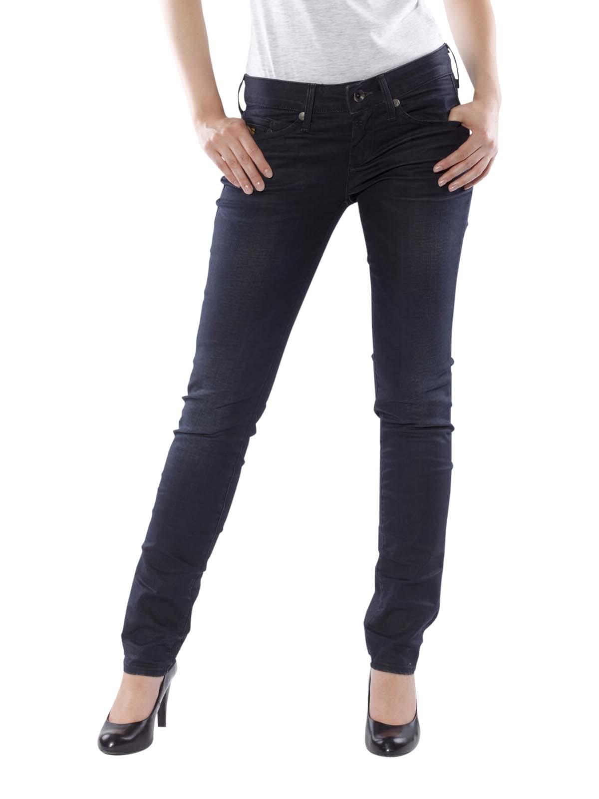 g star midge jeans skinny comfort garner dk aged women 39 s jeans. Black Bedroom Furniture Sets. Home Design Ideas