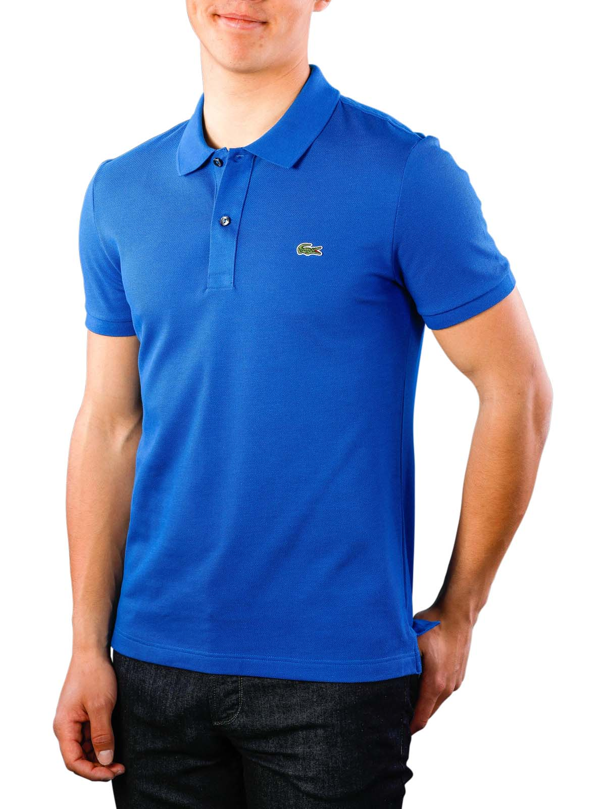 a0f1a557d225 Fast Delivery | Lacoste Polo Shirt Slim Short Sleeves ... - McJeans.ch