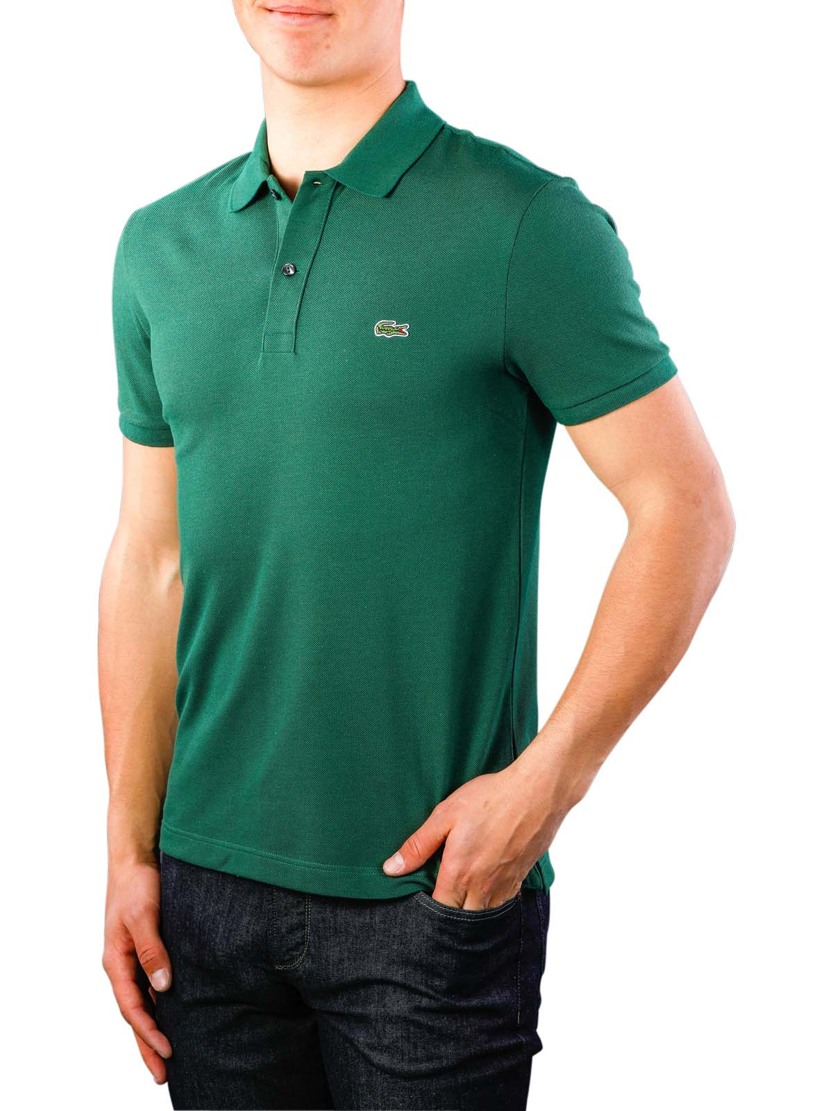 c21768e0 Fast Delivery | Lacoste Polo Shirt Slim Short Sleeves ... - McJeans.ch