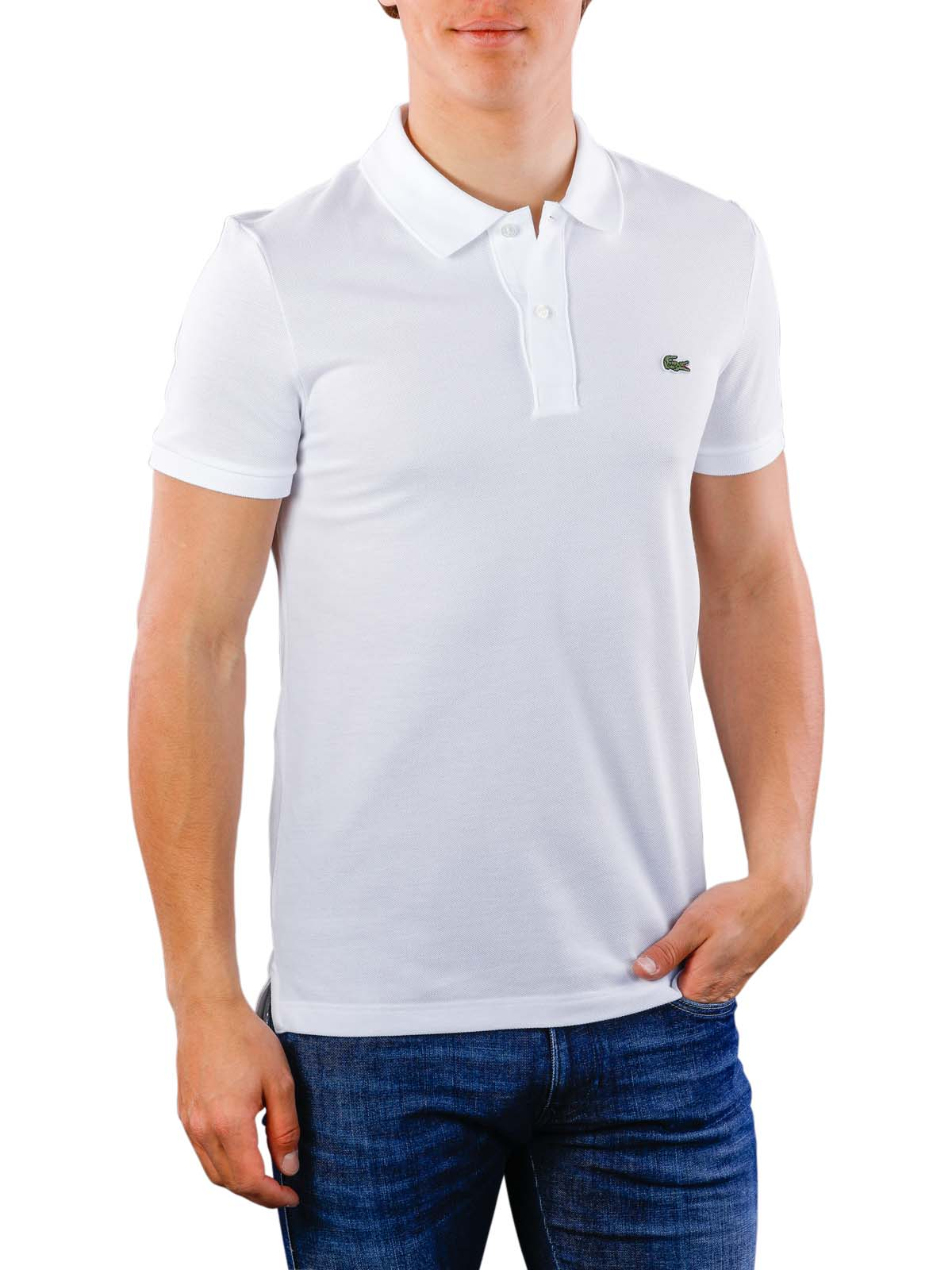 9fde52d2 Fast Delivery | Lacoste Polo Shirt Slim Short Sleeves ... - McJeans.ch