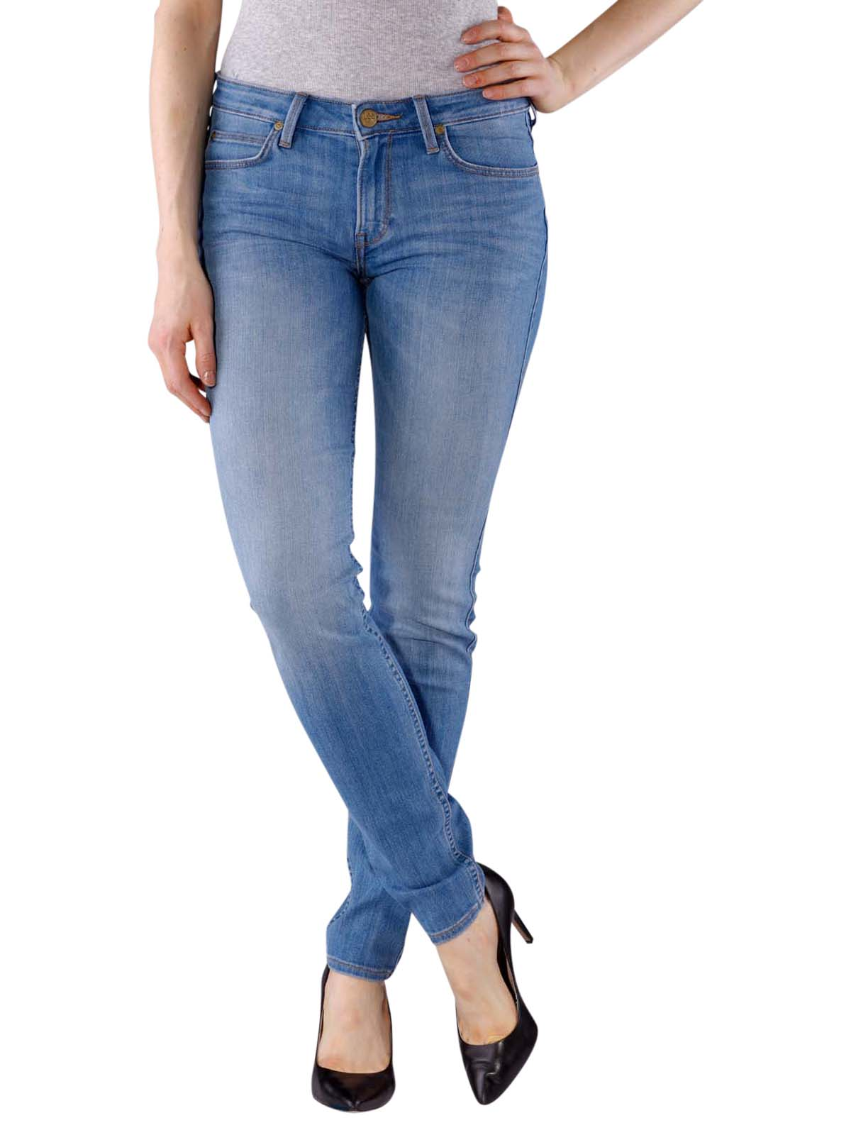 new images of official site official store Lee Scarlett Jeans bright blue