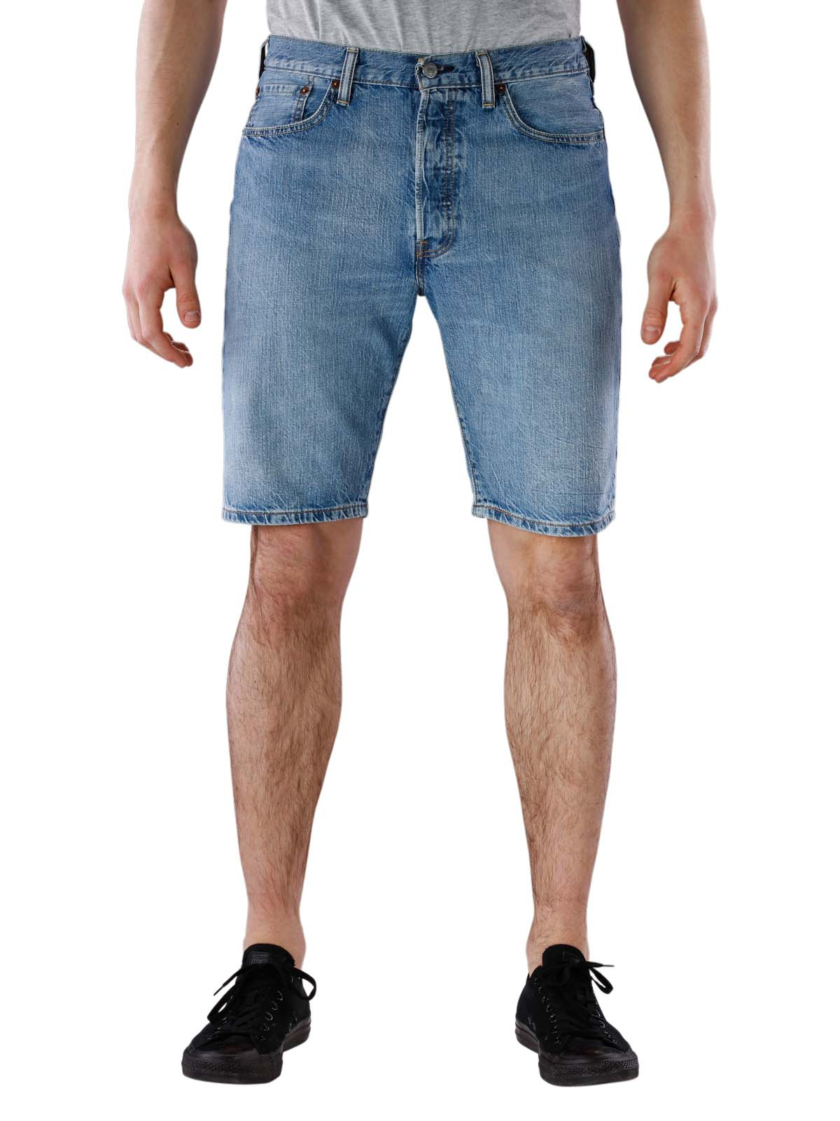 online store 142b7 cc3ae McJeans.ch - Fast Delivery | Levi's 501 Hemmed Short livin easy ltwt | Free  Shipping - Free Returns