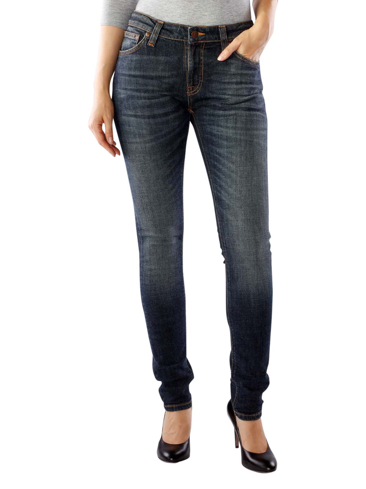 c732fd5538540f Fast Delivery | Nudie Jeans Skinny Lin blue motion ... - McJeans.ch