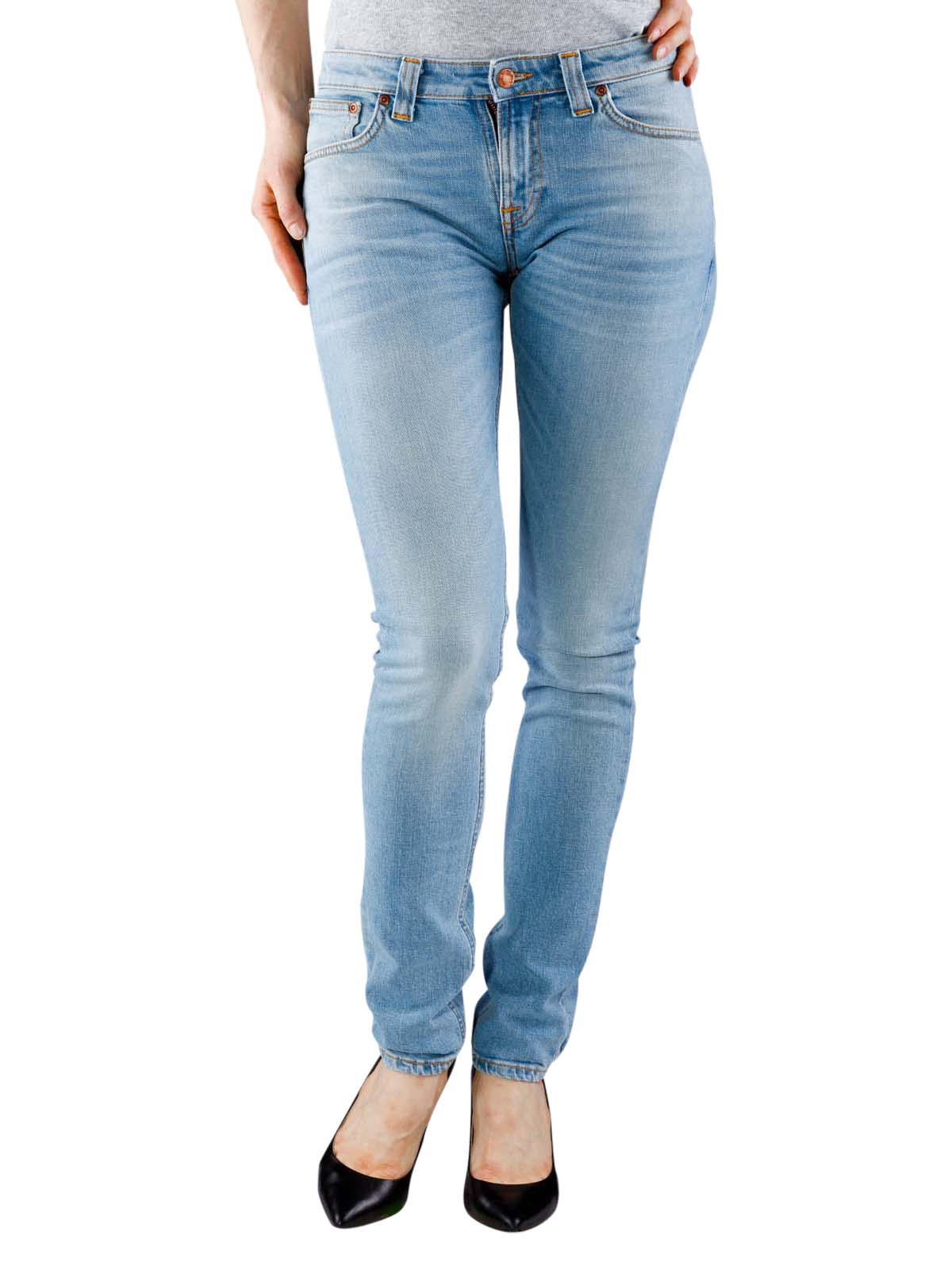 acf142b327e665 Fast Delivery | Nudie Jeans Skinny Lin blonde orange ... - McJeans.ch