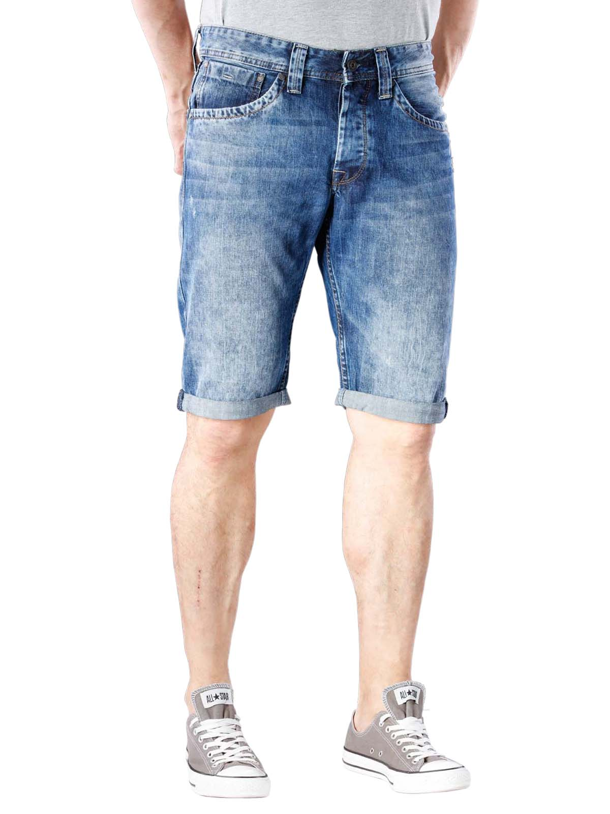 524b9a68e1fb Fast Delivery | Pepe Jeans Cash Short denim blue | Free ... - McJeans.ch