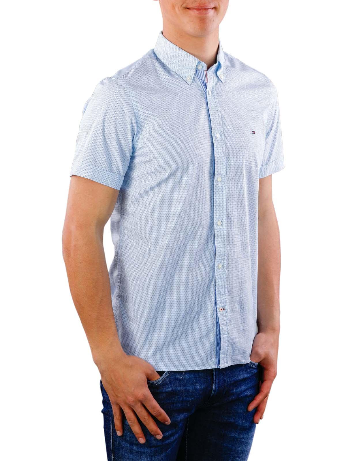 29fa8f375 Fast Delivery | Tommy Hilfiger Slim Mini Print Shirt ... - McJeans.ch