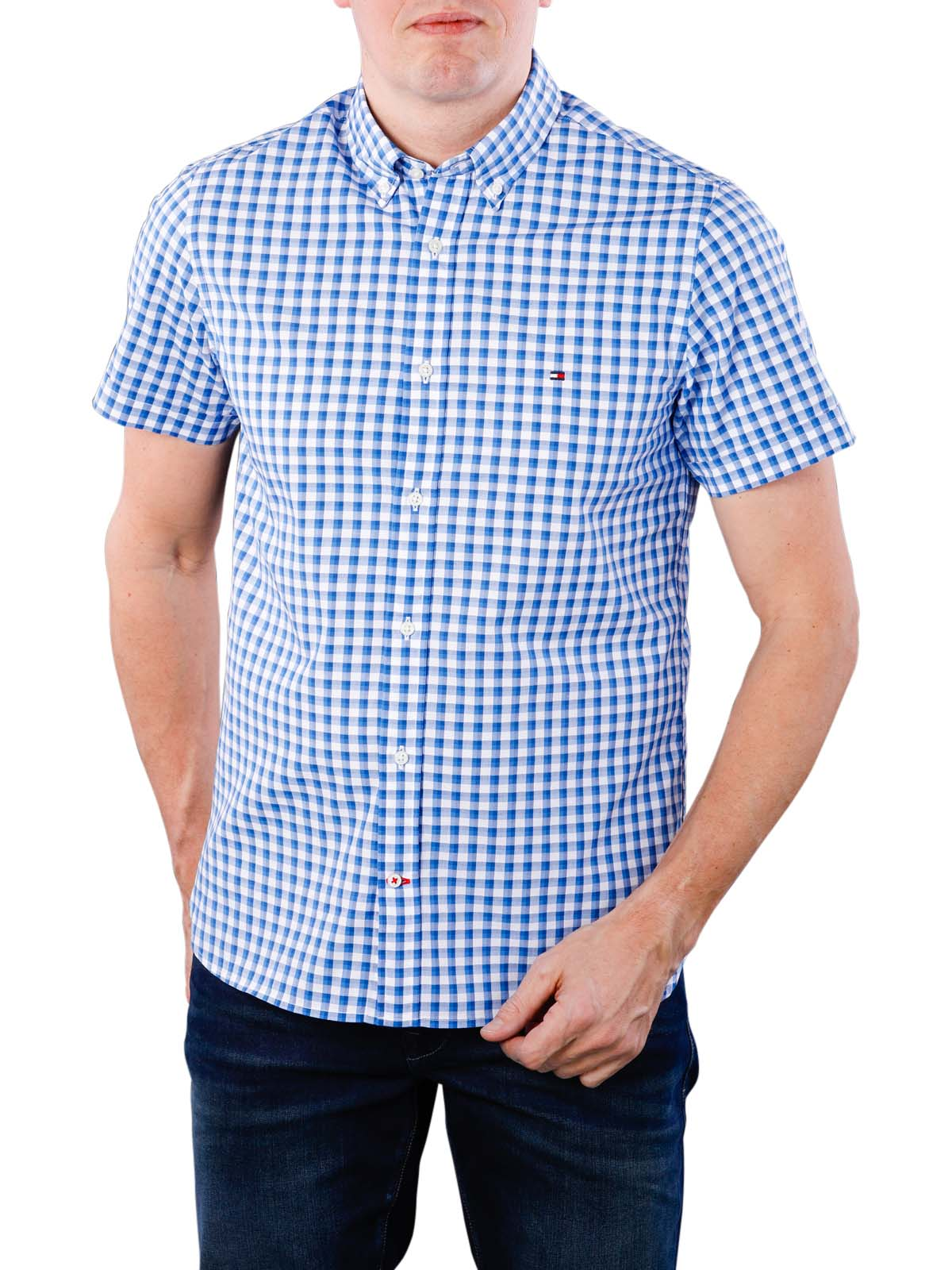 6bdeac24dc Fast Delivery | Tommy Hilfiger WCC Slim Dobby Shirt ... - McJeans.ch