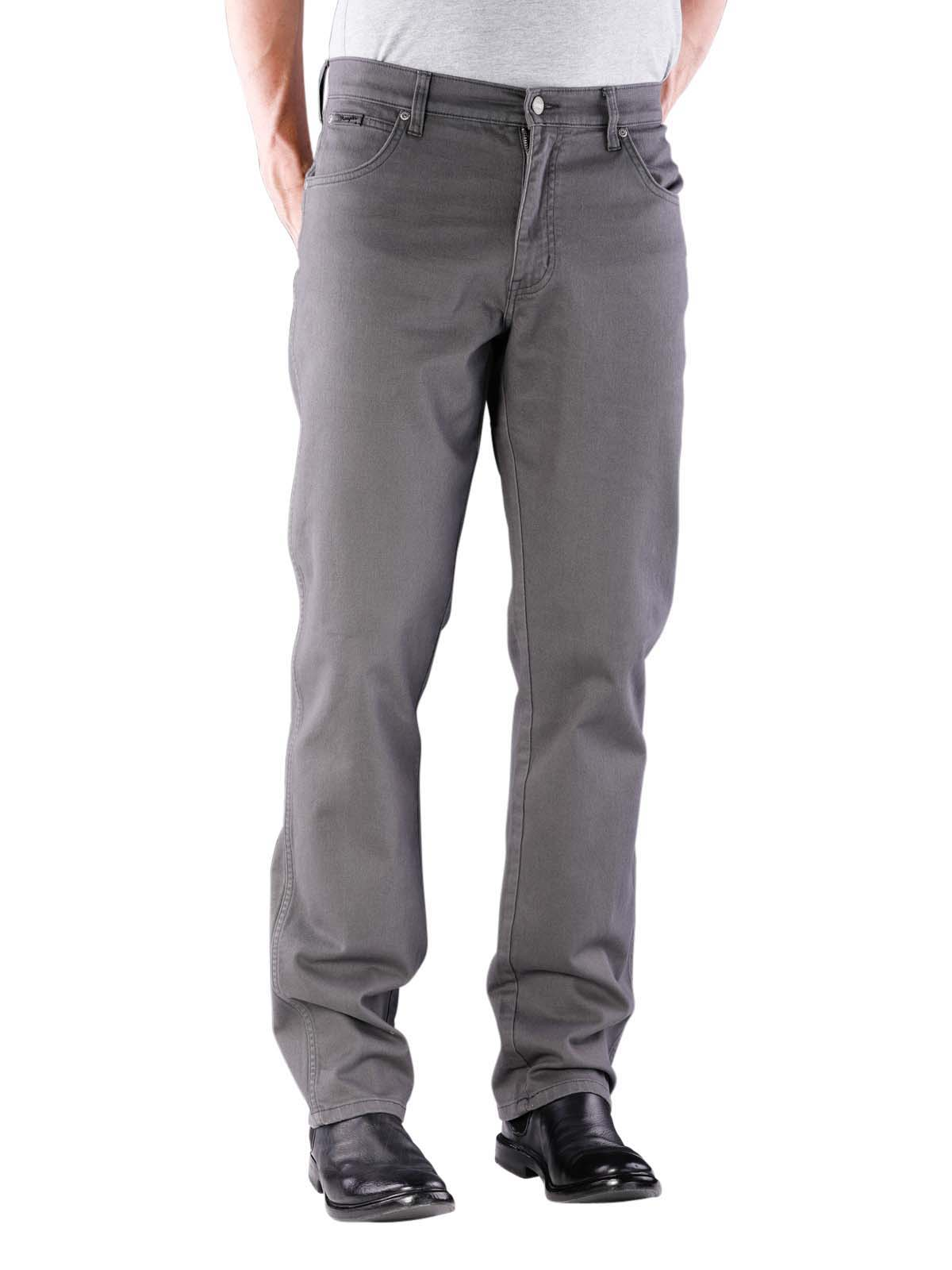 huge discount dc423 856c7 Wrangler Texas Stretch Pant grey lake