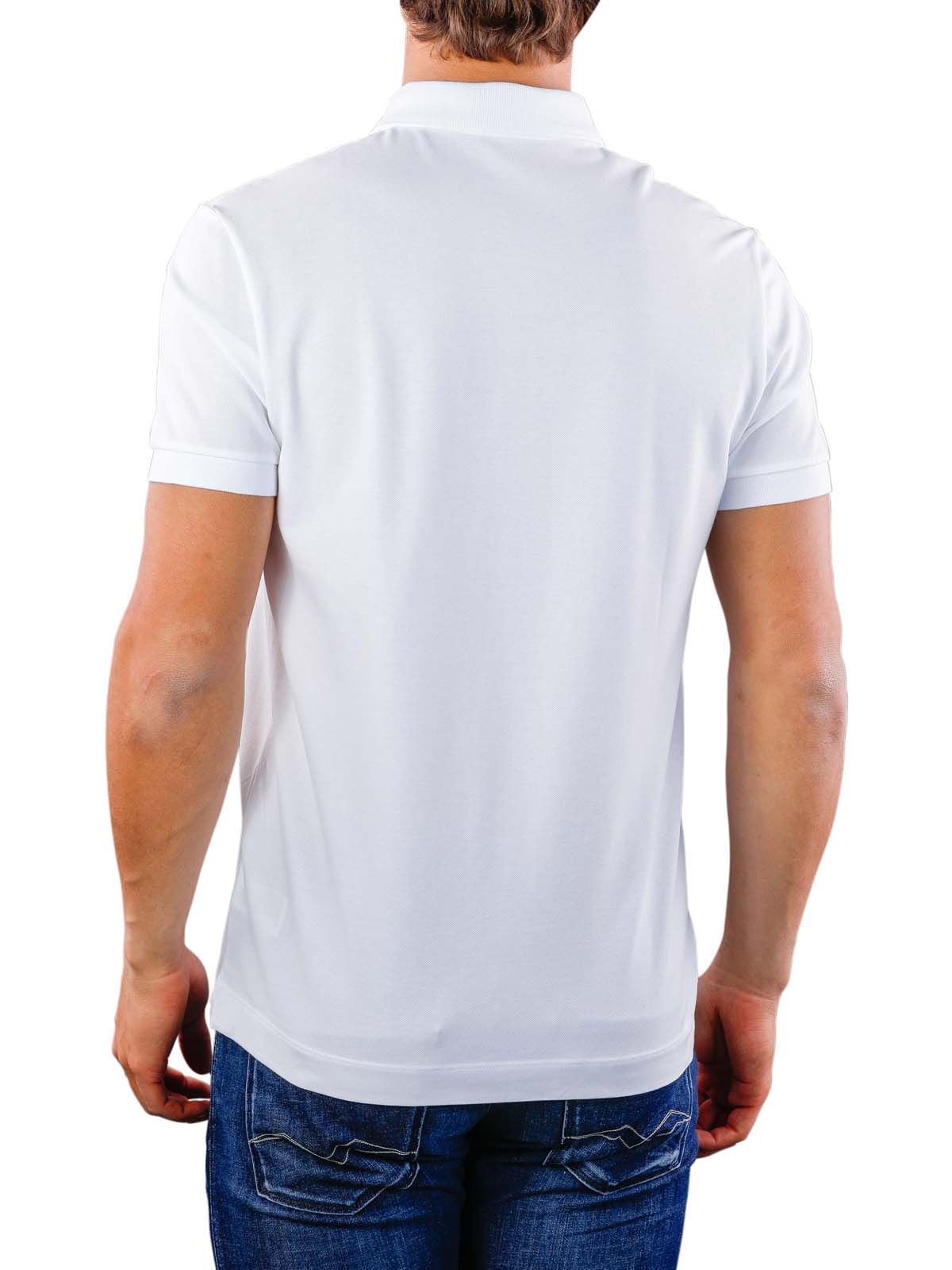 finest selection 8fdf0 921f0 Lacoste Polo Shirt Stretch blanc