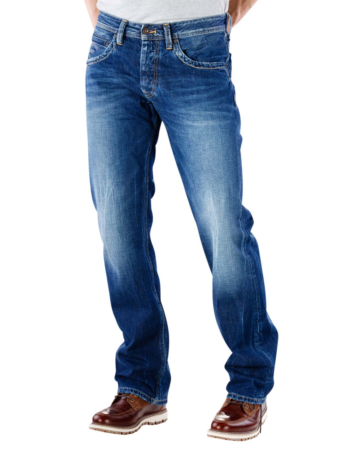 c3bc8b6b8bd McJeans.ch - Fast Delivery | Pepe Jeans Jeanius Relaxed Fit W53 ...