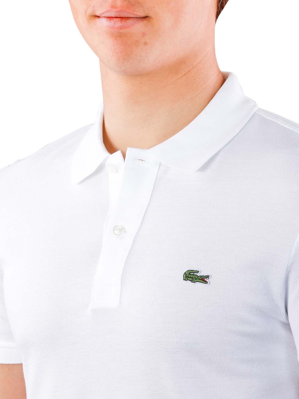 Envoi Shirt Polo Blanc Mcjeans ch Sleeves Gratuite ImmédiatLacoste Slim Short Livraison ARq54jL3