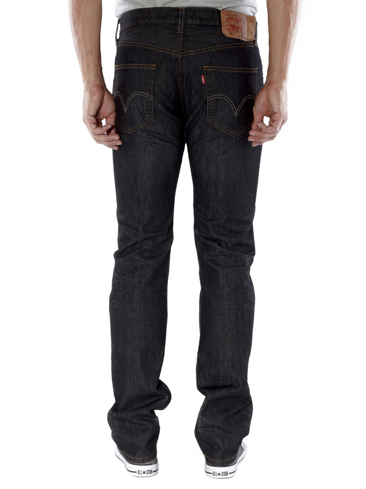 d3a8079c McJeans.ch - Fast Delivery | Levi\'s 501 Jeans iconic black | Free ...