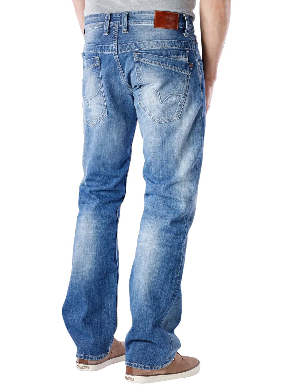 6a84f2fb2a7 Fast Delivery | Pepe Jeans Jeanius Relaxed Fit N56 ... - McJeans.ch